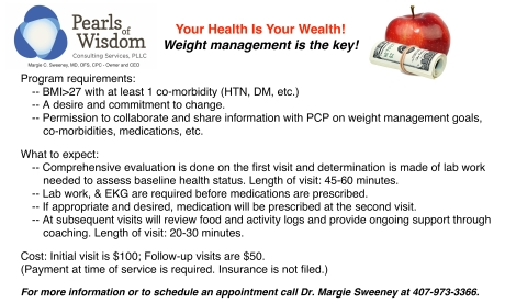 New Weight Management Services
